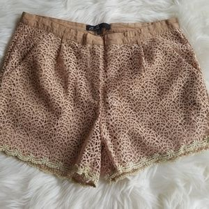 Pants - Embroidered Shorts Sz. Small